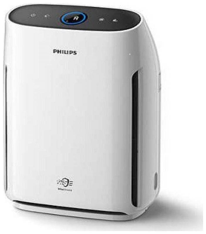 Philips Air Purifier AC 1217 Portable Room Air Purifier  White  by K3 Stores