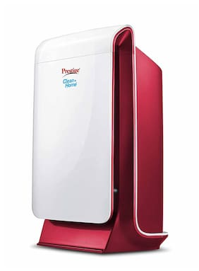 Prestige PAP 2.0 White Electrostatic precipitator Air Purifier ( 45 W ,Coverage Area: 325 sq ft )