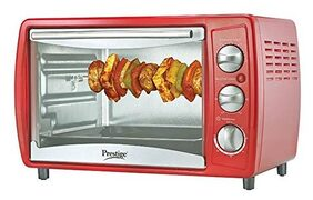 Prestige 19 L Grill Microwave Oven ( Potg 41463 , Red )