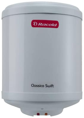 Racold CLASSICO SWIFT 10 L Electric Geyser ( White )