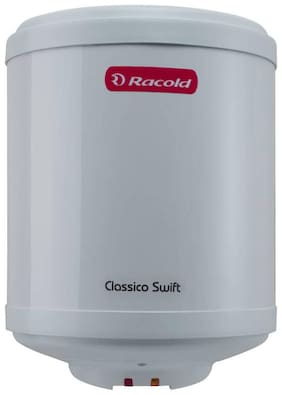 Racold Classico Swift 10 ltr Gas Storage Geyser (White)