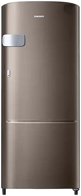 Samsung 192 L 4 star Direct cool Refrigerator - RR20R1Y2YDX , Luxe brown