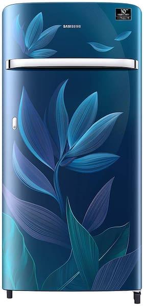 Samsung 198 L 4 star Direct cool Refrigerator - RR21T2G2X9U/HL , Paradise blue