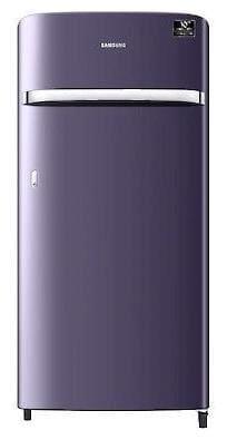 Samsung 198 L 4 star Direct cool Refrigerator - RR21T2G2XUT/HL , Pebble blue