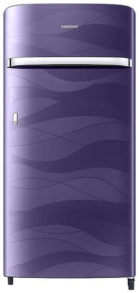 Samsung 198 L 4 star Direct cool Refrigerator - RR21T2G2XRV/HL , Purple wave
