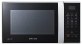 Samsung 21 L Convection Microwave Oven (CE76JD, Black & Silver)