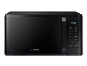 Samsung 23L Solo Microwave oven (MS23K3513AK, Black), Quick Defrost
