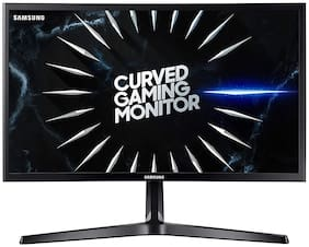 Samsung LC24RG50FQWXXL 59.8 cm (24 inch) Full HD LED Monitor HDMI & DisplayPort Connectivity Gaming