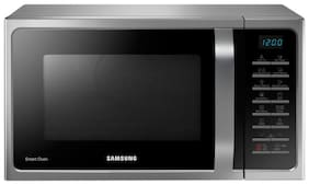Samsung 28 l Convection Microwave Oven - MC28H5025VS/TL , Silver & Black