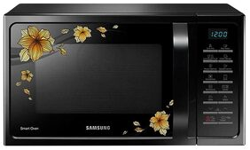 Samsung 28 L Convection Microwave Oven ( Mc28h5025qb/tl , Black )