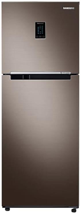 Samsung 324 ltr 3 star Frost free Refrigerator - RT34R5538DX , Brown
