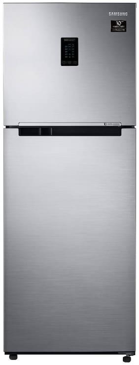 Samsung 324 L 2 star Frost free Refrigerator - RT34T4542S9/HL , Refined inox