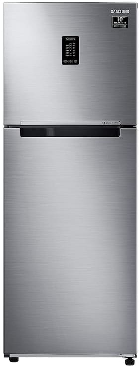 Samsung 336 L 2 star Frost free Refrigerator - RT37T4632SL/HL , Real stainless steel