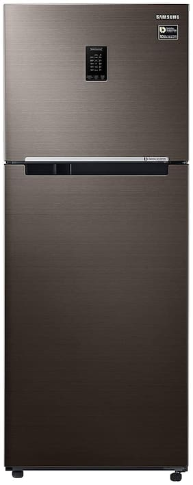 Samsung 386 L 3 star Frost free Refrigerator - RT39T5C3EDX/TL , Luxe brown