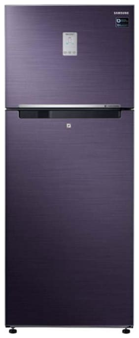 Samsung 465 L 3 star Twin cooling Refrigerator - RT47K6238UT , Pebble blue