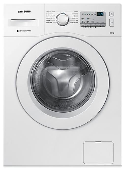 SAMSUNG WW60M206KMA 6KG Fully Automatic Front Load Washing Machine