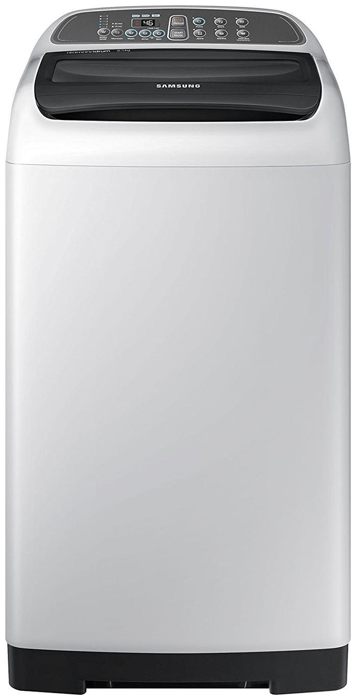 Samsung 6.5 Kg Fully automatic top load Washing machine   WA65M4205HV , Silver by Crazy Deals
