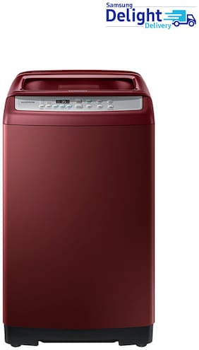 Samsung 6.5 Kg Fully automatic top load Washing machine - WA65H4500HP , Scarlet red