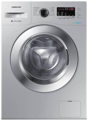 Samsung 6.5 kg Fully Automatic Front Load Washing machine - WW66R22EK0S , Silver