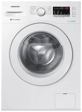 Samsung 6 kg Fully automatic front load Washing machine - WW61R20EKMW , White