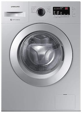 Samsung 6 kg Fully Automatic Front Load Washer with dryer - WW60R20GLSS/TL , Silver