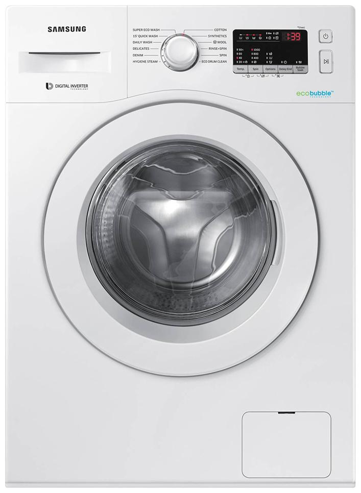 Samsung 6 kg Fully Automatic Front Load Washing machine   WW61R20EKMW , White by Home Shopper