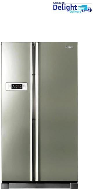 Samsung 600 L 1 star Frost free Refrigerator - RS21HSTPN1 , Platinum inox