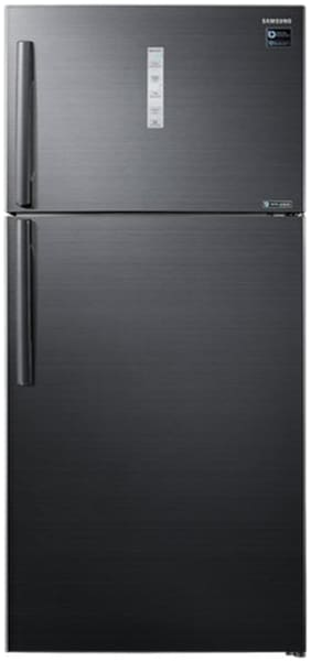 Samsung 670 ltr 3 star Twin cooling Refrigerator - RT65K7058BS , Black inox