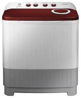 Samsung 7.2 Kg Semi automatic top load Washing machine - WT72M3000HP , Red