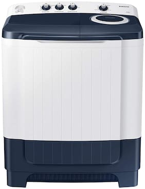 Samsung 8.5 kg Semi Automatic Top Load Washing machine - WT85R4200LL , White & Royal blue