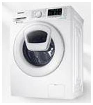 Samsung 8 Kg Fully automatic front load Washing machine - WW80K5210WW/TL , White