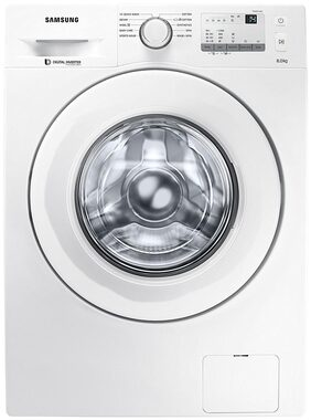 Samsung Fully Automatic Front Load Washing Machine ( Ww80j3237kw/tl , White )