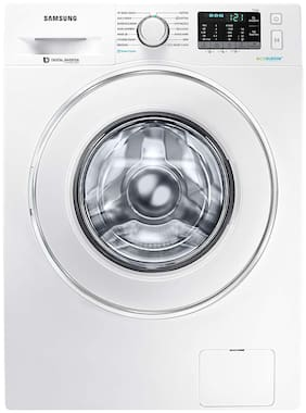 Samsung 8 kg Fully Automatic Front Load Washing machine - WW81J54E0IW , White