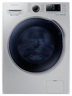 Samsung 8 Kg Fully automatic front load Washing machine - WD80J6410AS/TL , White