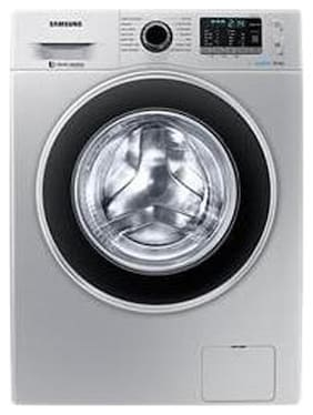 Samsung 8 Kg Fully automatic front load Washing machine - WW80J5410GS , Silver