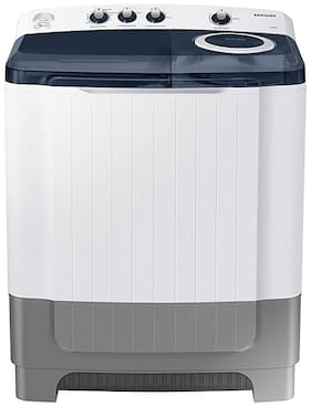 Samsung 8 Kg Semi automatic top load Washing machine - WT80R4200LG/TL , White & Blue