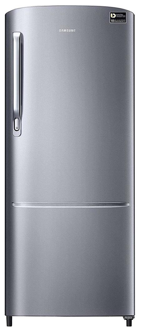 Samsung 212 L Direct Cool Single Door 3 Star Refrigerator (RR22M272ZS8, Elegant Inox)