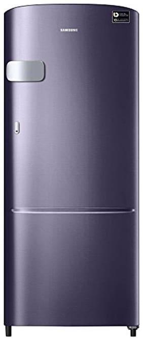 Samsung 192 ltr 5 star Direct cool Refrigerator - RR20M1Y2XUT/RR20M2Y2XUT , Red