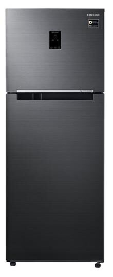 Samsung Frost Free 415 L Double Door Refrigerator (RT42M5538BS, Black Inox)