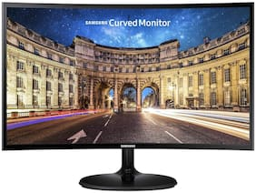 Samsung Lc27f390fhwxxl 68.58 cm (27 inch) Full hd Curved led Monitor