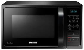 Samsung 28 L Convection Microwave Oven - MC28H5033CK/TL , Black Silver
