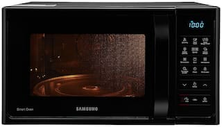 Samsung 28 l Convection Microwave Oven - MC28H5033CK/TL , Black & silver