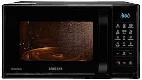 Samsung 28 ltr Convection Microwave Oven - MC28H5033CK/TL , Black & silver