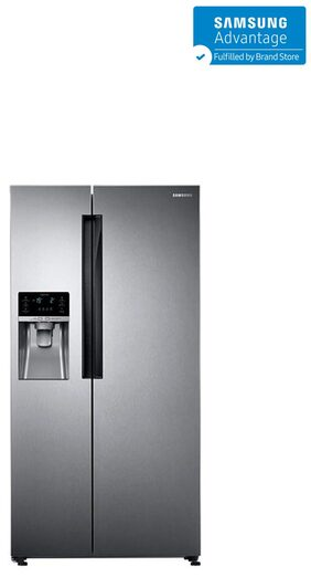 Samsung Twin Cooling Plus 654 L Side By Side Refrigerator (RS58K6417SL, Ez Clean Steel)