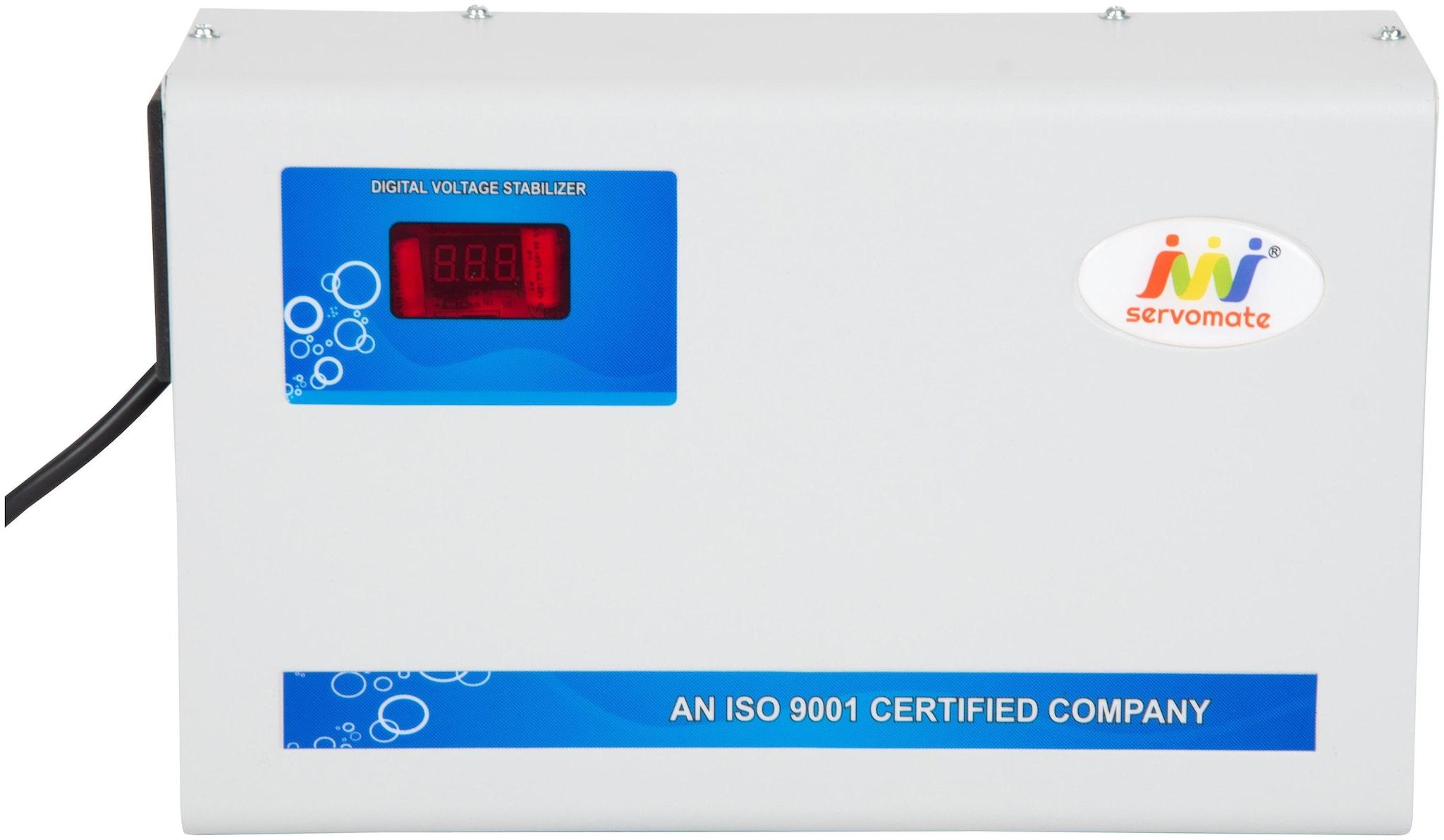 Servomate 4KVA  175V 260V  Automatic Voltage Stabilizer For 1.5 Ton Ac, Aluminium, Wall Mount Model