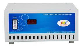 Servomate 5KVA (100V-300V) Mainline Automatic Voltage Stabilizer, Aluminium, Floor Model