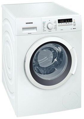 Siemens 7 kg Fully Automatic Front Load Washing Machine (WM10K260IN, White)