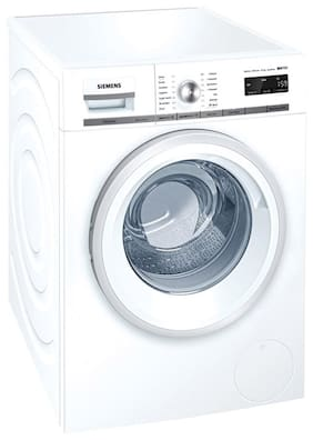 Siemens 8 kg Fully Automatic Front Load Washing Machine (WM12W440IN, White)