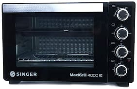 Singer 40 ltr Grill Microwave Oven - MAXI GRILL 4000 RC , Black