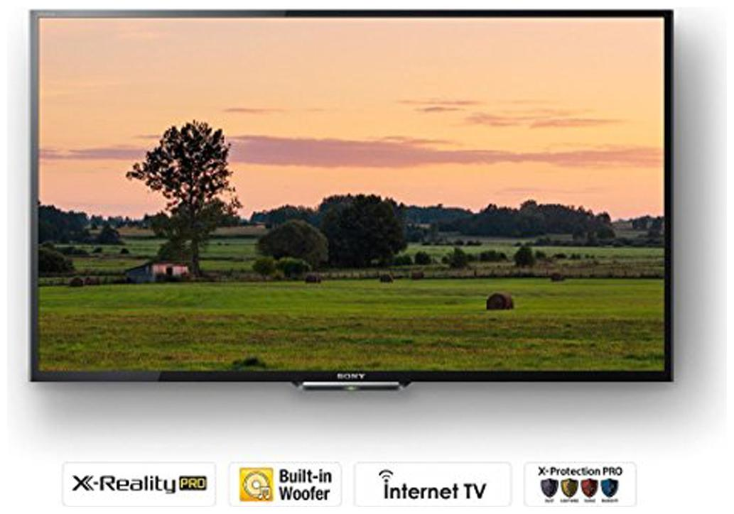 Sony 32 Inches HD Ready LED Smart TV (KLV-32W512D, Black)
